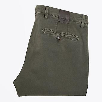 Briglia  - Washed-Effect Trousers - Green