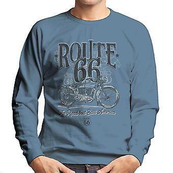 Route 66 Building America mænd ' s sweatshirt