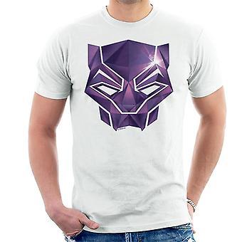 Marvel Avengers Infinity Krieg Black Panther Maske Herren T-Shirt