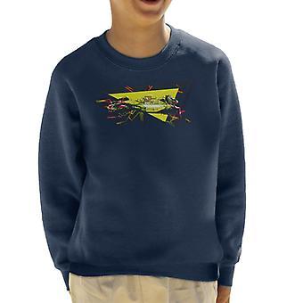 Motorsport Images Nigel Mansell Monte Carlo 1992 Kid's Sweatshirt