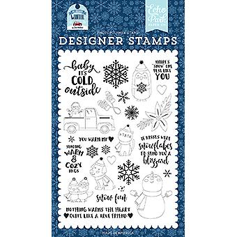 Echo Park You Warm My Heart Clear Stamps