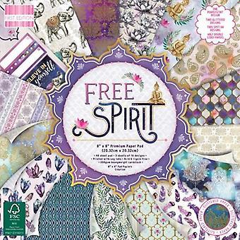 Première édition Free Spirit 8x8 Inch Paper Pad