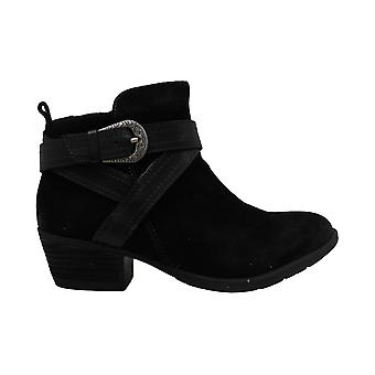 Earth Women's Shoes peak porter Suede Closed Toe Ankle Chelsea Boots