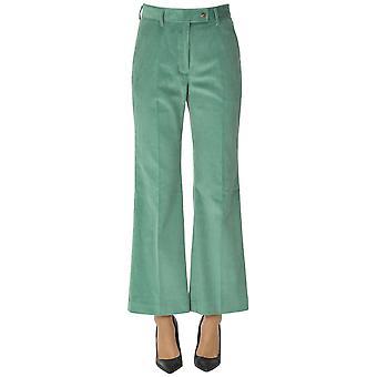 Acne Studios Ezgl151060 Mujeres's Pantalones de algodón verde