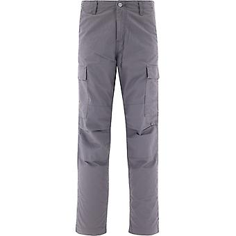 Carhartt I015875348902 Men's Grey Cotton Pants