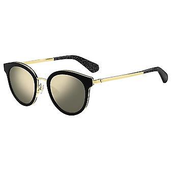 Sonnenbrille Damen  Lisanne   reflektierend schwarz/gold