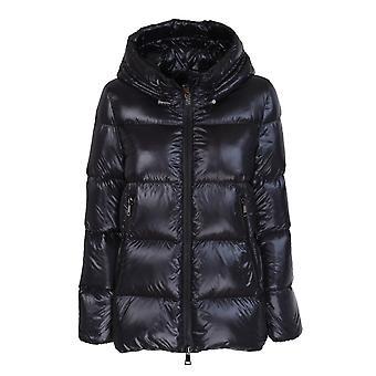 Moncler 1a20000c0151999 Women's Black Nylon Down Jacket