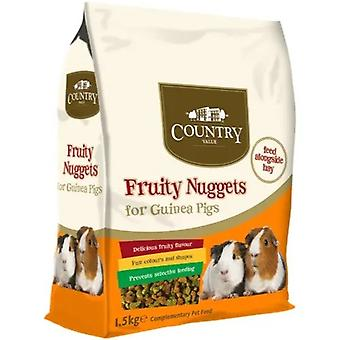 Country Value Guinea Pig Fruity Nuggets
