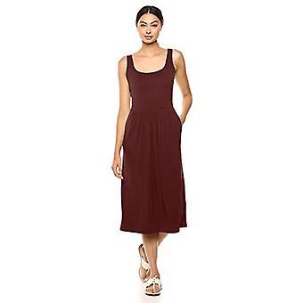 Brand - Daily Ritual Women's Jersey Sleeveless Empire-Waist Midi Dress...