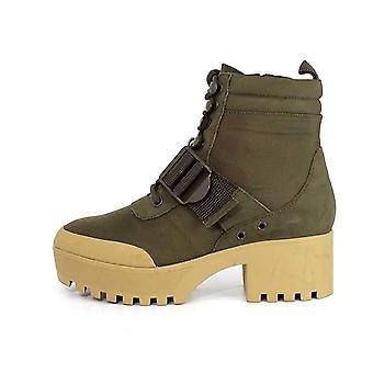 ستيف مادن النساء جرادي الجلود مغلقة الأحذية أزياء الكاحل تو