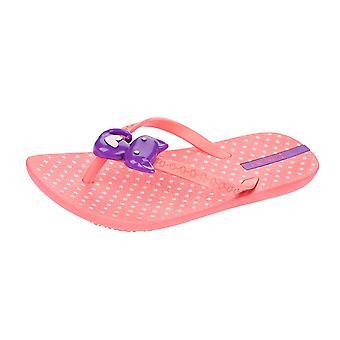 Ipanema Kitty Girls Beach Flip Flops / Sandals - Light Pink