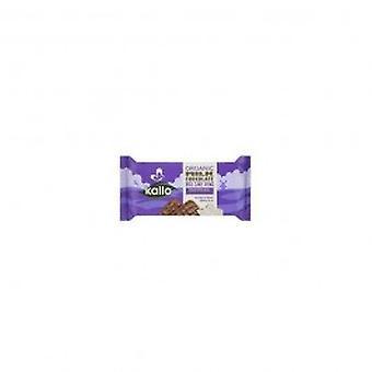 الأطعمة كالو-شوكولاتة الحليب العضوية الأرز كعك