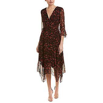 Rachel Zoe | Caden Floral Silk Chiffon Midi Dress