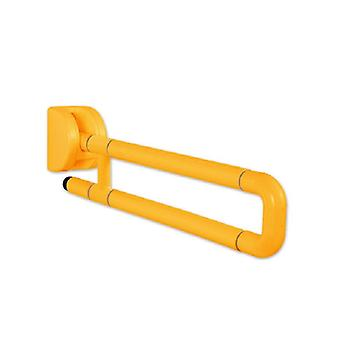 Folding Bathroom Support Safety Rail - Flip Up Grab Bar For Elderly, Disabled