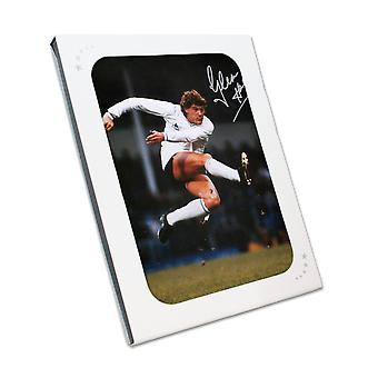Glenn Hoddle Signed Tottenham Hotspur Photo: The Volley. In Gift Box