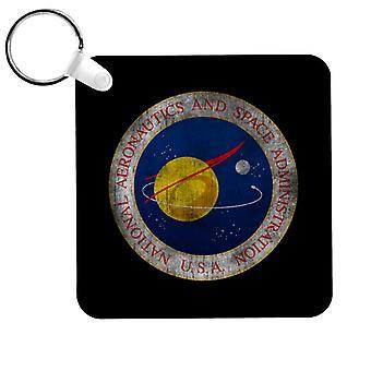 NASA Seal Insignia Distressed Keyring