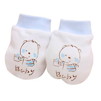 Zimné Baby Rukavice, Roztomilý Cartoon, Anti Scratch, Fabric Rukavice
