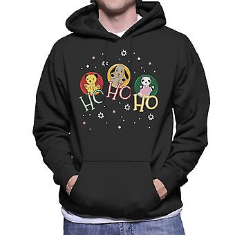 Sooty Christmas Ho Ho Ho Men's Sweatshirt à capuchon