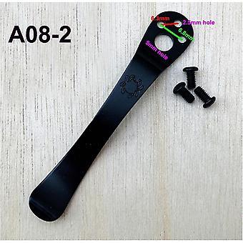 11mm *64mm Pocket Clip, Couteaux pliants, Couteaux Byrd, Clip C81 ou Outils Edc avec