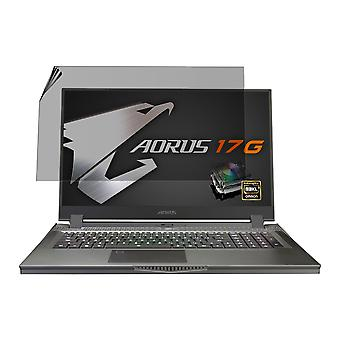Celicious Privacy Plus 4-Way Anti-Spy Filter Screen Protector Film Compatible with Aorus 17G YB