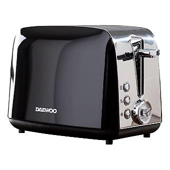 Daewoo Kingsbury 2 szelet rozsdamentes acél dial kenyérpirító