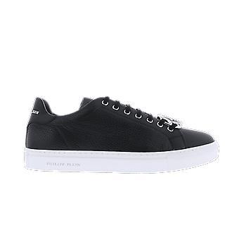Philipp Plein Lo-Top Tennarit Kuusikulmio Musta MSC2821PLE006N02 kenkä