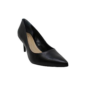 Alfani Womens Jeules Leather Pointed Toe Classic Pumps