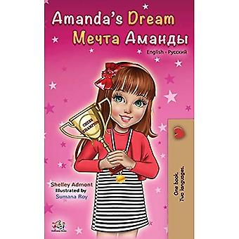 Amanda's Dream (English Russian Bilingual Book)