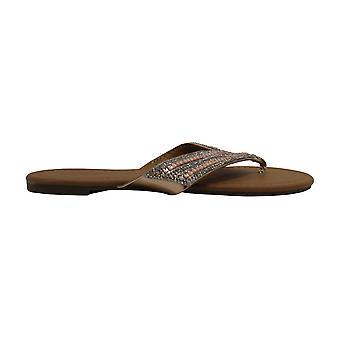 Olivia Miller Ladies Peel & Stick Thong Sandal