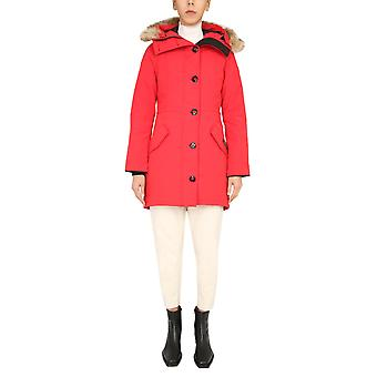 Canada Goose 2580l11 Women's Red Polyester Outerwear Jacket
