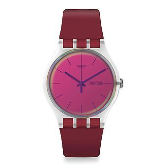 Swatch SUOK717 Polared Silicone Watch