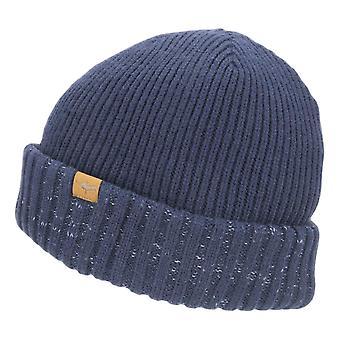 Sealskinz WP Cold Weather Roll Cuff Beanie - Navy Blue