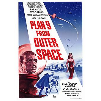 Plan 9 from Outer Space Movie Poster Print (27 x 40)