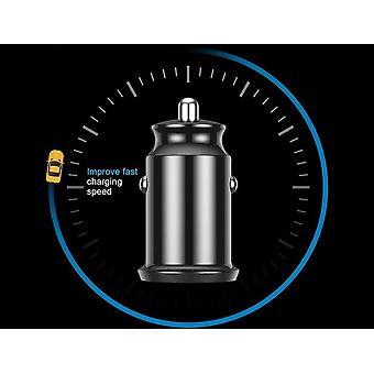 Tablet cellulare Gps Doppio adattatore caricabatterie Usb in auto