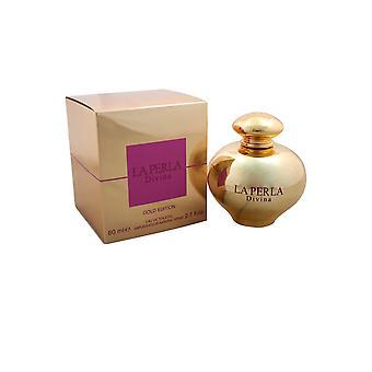 La Perla Divina Eau de Toilette Spray 80ml Gold Edition