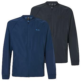 Oakley Mens Golf Tech Water Repellent Full Zip Jacket