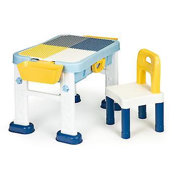 Speeltafel - kindertafel - 83x50x58 cm - met stoel
