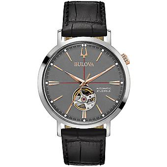 Mens Watch Bulova 98A187, Automático, 42mm, 3ATM