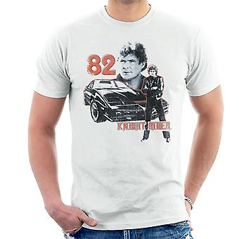 Knight Rider 82 Montage Hombres's Camiseta