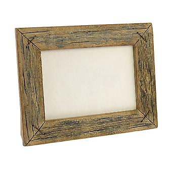 5 X 7 Horizontal Frame With Textured Details, Brown