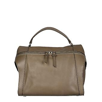Carditosale Cf206svs0040 Women's Beige Leather Shoulder Bag