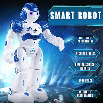 Intelligent Robot Multi-function USB Charging Children's Toy Dancing Remote Control Gesture Sensor Toy Kids Birthday Gifts