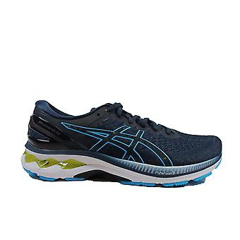 Asics Gel-Kayano 27 French Blue/Aqua Mesh Mens Lace Up Running Trainers