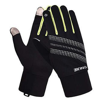 AONIJIE Men Women Outdoor Sports Bicycle Cycling Warm Windproof Full Finger Bike Glove Motorcycle