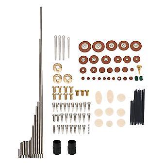 Tenor saxofón enchufe rodillos metal reparación tornillo tuerca pieza de mantenimiento