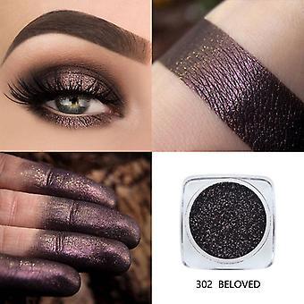 Shimmer Monochrome Eyeshadow, Professional Eye Part Makeup, Metal Palette Set