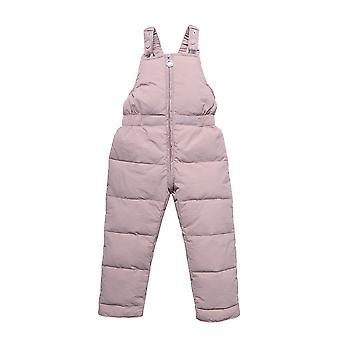 Baby down bukser, vinter varm fortykning bukser