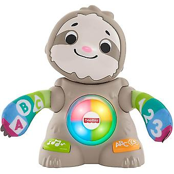 Fisher price multicolour linkimals smooth moves sloth baby toy