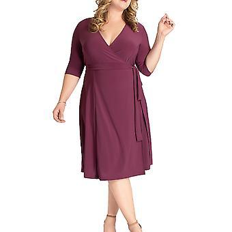 Kiyonna | Essential Wrap Dress