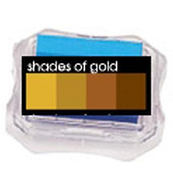 Uchida Blending Blox Ink Pads - Shades Of Gold